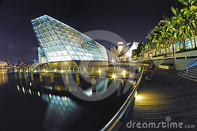 Louis Vuitton Island Maison at Marina Bay Sands Editorial Photography