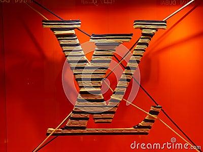 Louis Vuitton Logo Editorial Stock Image