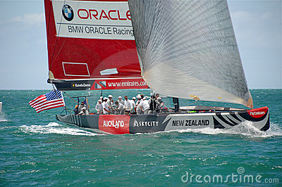Louis Vuitton Match Racing Pacific Series 1 Editorial Photography