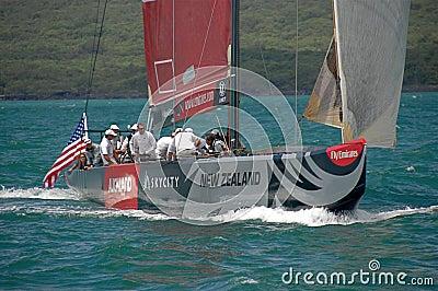 Louis Vuitton Match Racing Pacific Series 2 5 4 Editorial Stock Photo