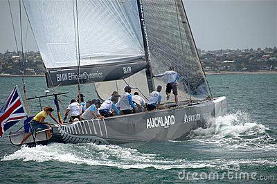 Louis Vuitton Match Racing Pacific Series 5 4 Editorial Photography