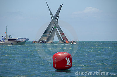 Louis Vuitton Match Racing Pacific Series 6 Editorial Stock Photo