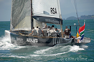 Louis Vuitton Match Racing Pacific Series 7 Editorial Stock Photo