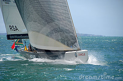 Louis Vuitton Match Racing Pacific Series Editorial Stock Image