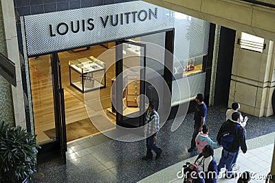 Louis Vuitton store in Kodak theater Editorial Image