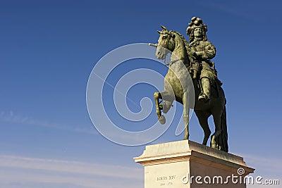 Louis XIV sculpture