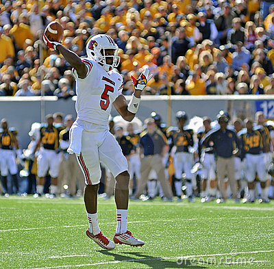 Louisville quarterback Teddy Bridgewater Editorial Stock Image