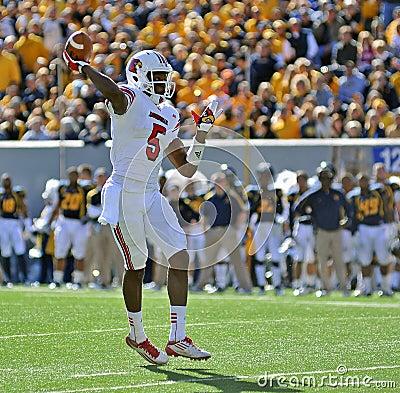 Louisville quarterback Teddy Bridgewater Editorial Stock Image