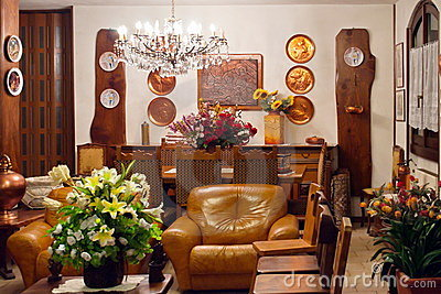 Lounge indoor furniture old style
