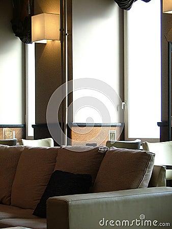 Free Lounge Interior Royalty Free Stock Photo - 127265