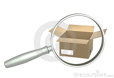 Loupe and boxes