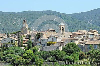 Lourmarin town