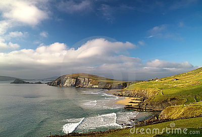 Louro de Dunquin no Kerry do Co.