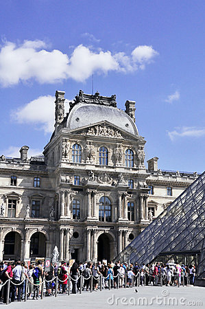 Louvre Editorial Stock Photo