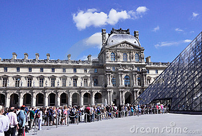 Louvre Editorial Image