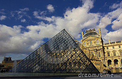 Louvre Editorial Stock Image