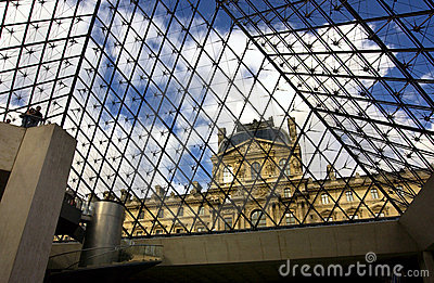 Louvre Editorial Photography