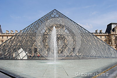 The Louvre Editorial Stock Photo