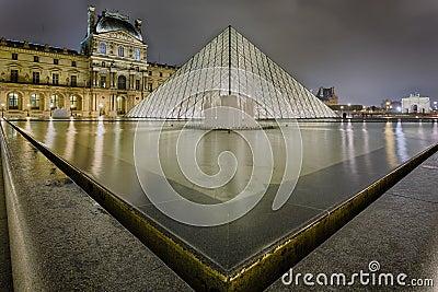Louvre Editorial Stock Photo