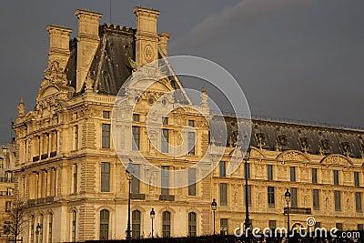 Louvre Art Museum in Paris
