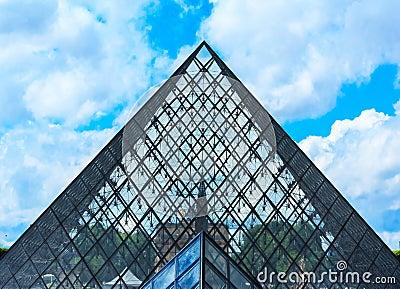 The Louvre Art Museum, Paris Editorial Image
