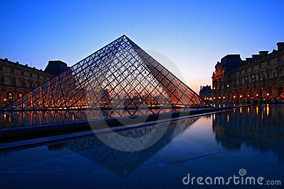 Louvre Museum Editorial Image