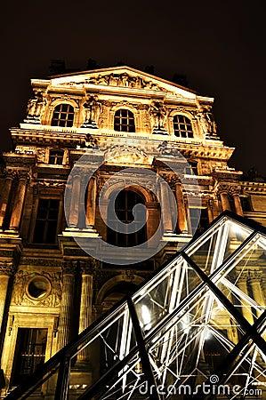 Louvre museum Editorial Image