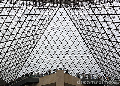 Louvre Museum Editorial Photography