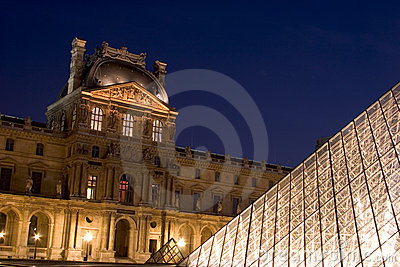 The Louvre Museum Editorial Stock Photo