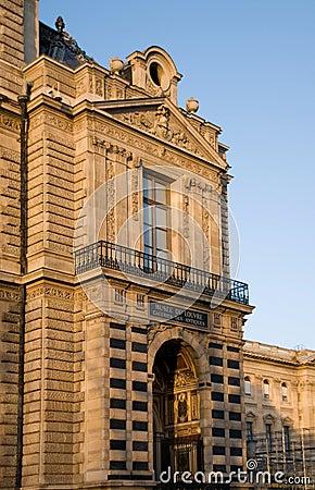 Louvre Museum. (Galeries des Antiques), Paris.