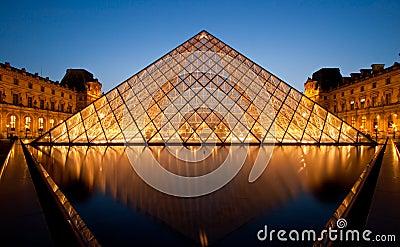 Louvre Museum Paris Editorial Photo