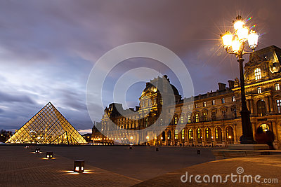Louvre Museum Paris Editorial Image