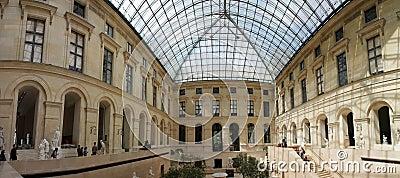 Louvre museum in Paris, France Editorial Image