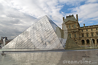 Louvre museum Editorial Photo