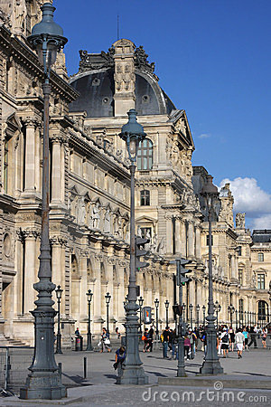 The Louvre Palace Editorial Image