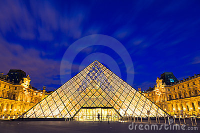 The Louvre, Paris Editorial Photo