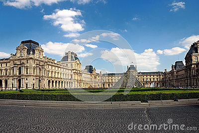 The Louvre in Paris Editorial Stock Photo