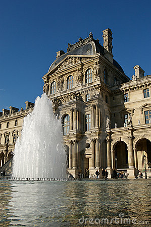 Louvre Paris Stock Photography - Image: 5006072