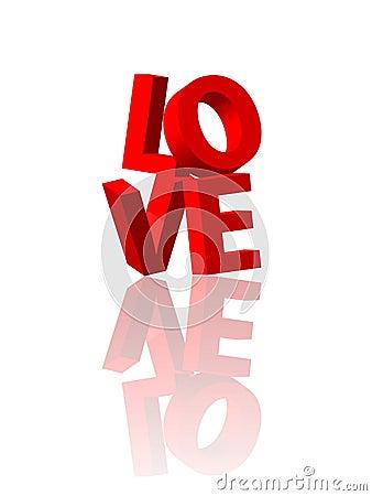 Love 3d text #2
