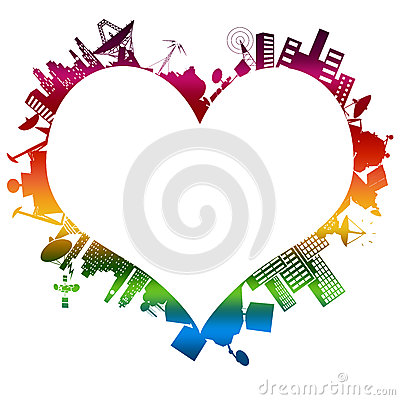 Free Love At First Byte: My Rainbow Royalty Free Stock Photo - 37048165