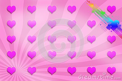 Love background , illustration