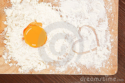We love baking. Stock Photo