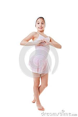 Love ballet dancing