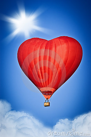 Love Balloon Royalty Free Stock Photo - Image: 23158965