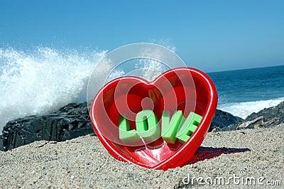 Love at the beach 1