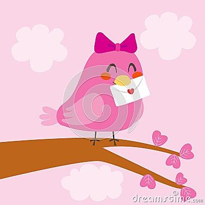 Love Bird Letter