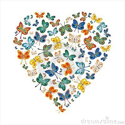 Love Butterflies Stock Photography - Image: 14343962