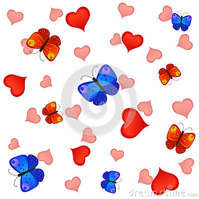 Love and butterflies