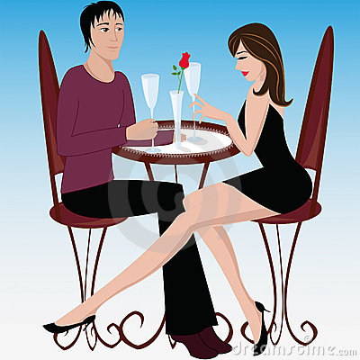 Love in cafe