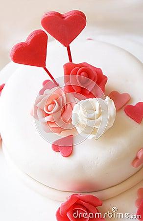 Free Love Cake Stock Photo - 19467350